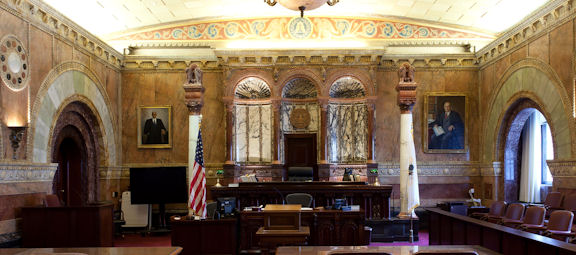 federal criminal appeals court room
